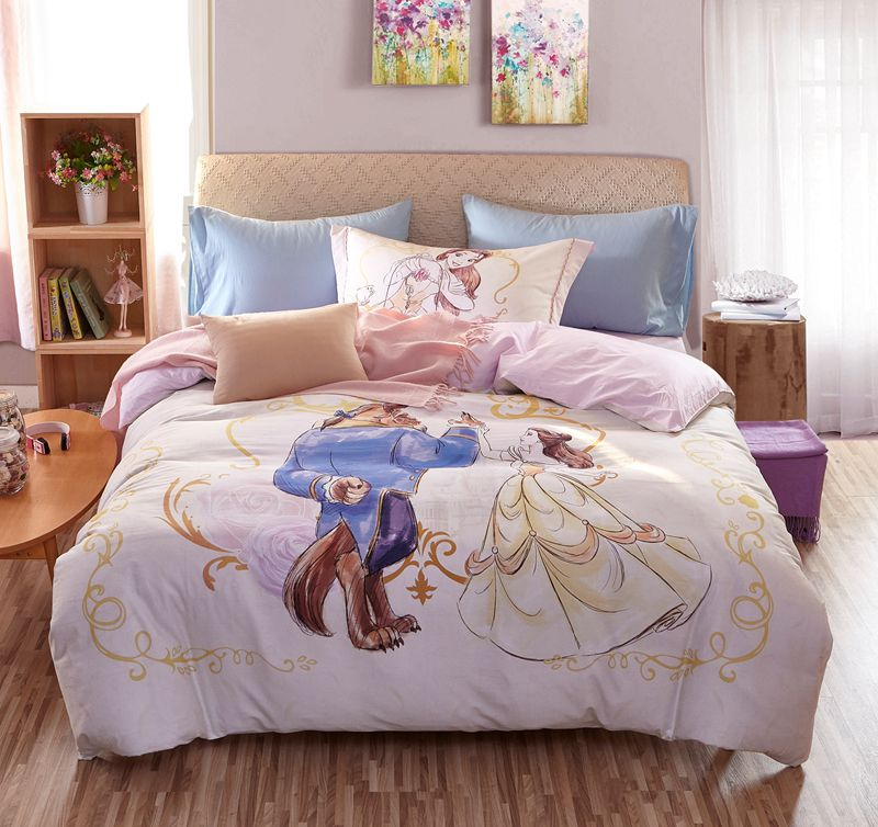 Beauty And The Beast Bedding Set For Adults Twin Queen Size Ebeddingsets