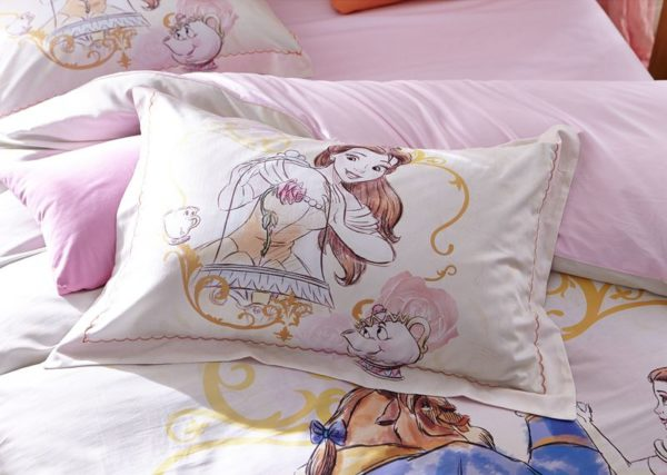 Beauty and the Beast Bedding Set for Adults Twin Queen Size 5 600x427 - Beauty and the Beast Bedding Set for Adults Twin Queen Size