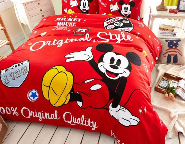 Boys Mickey Mouse Comforter Set Twin Queen Size 3