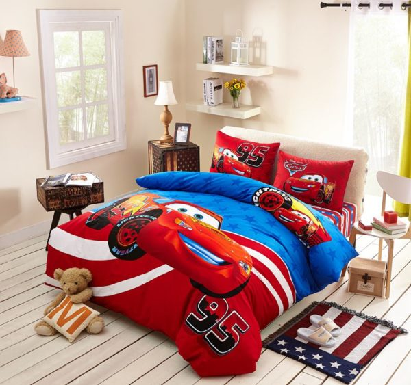 Cars Movie Themed Bedding Set 1 600x563 - Cars Movie Themed Bedding Set