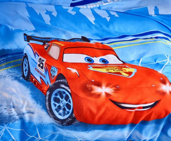 Cars Movie twin queen comforter set for Boys 3 600x494 - Cars Movie Twin & Queen Comforter Set for Boys