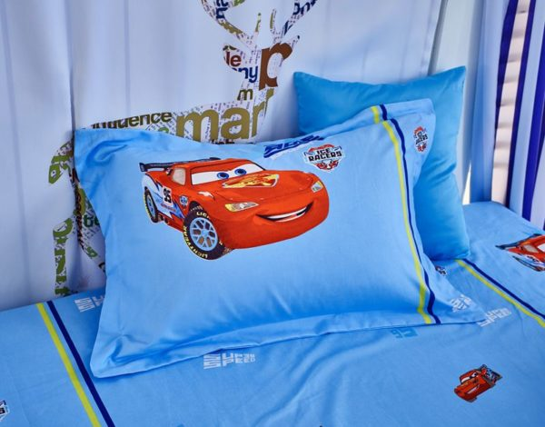 Cars Movie twin queen comforter set for Boys 7