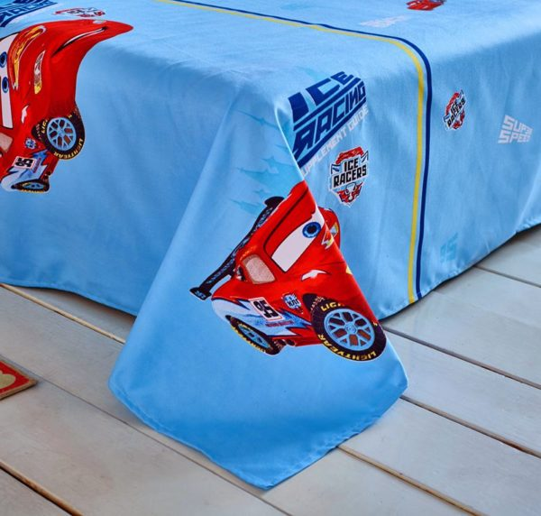 Cars Movie twin queen comforter set for Boys 8