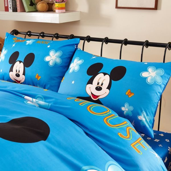 Classic Mickey Mouse Bedding Set Twin Queen Size 7