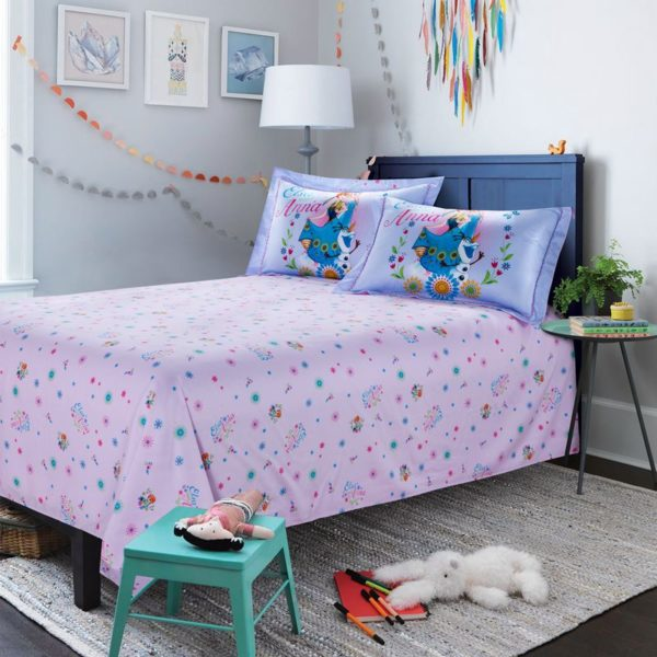 Cute Teen Girls Frozen Theme Bedding Set 3 600x600 - Cute Teen Girls Frozen Theme Bedding Set