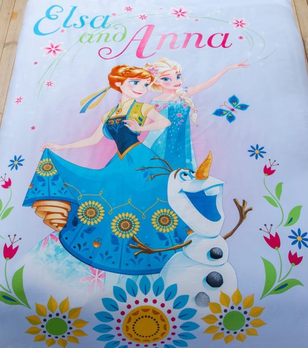 Cute Teen Girls Frozen Theme Bedding Set 4 600x677 - Cute Teen Girls Frozen Theme Bedding Set