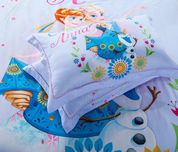 Cute Teen Girls Frozen Theme Bedding Set 5 600x512 - Cute Teen Girls Frozen Theme Bedding Set