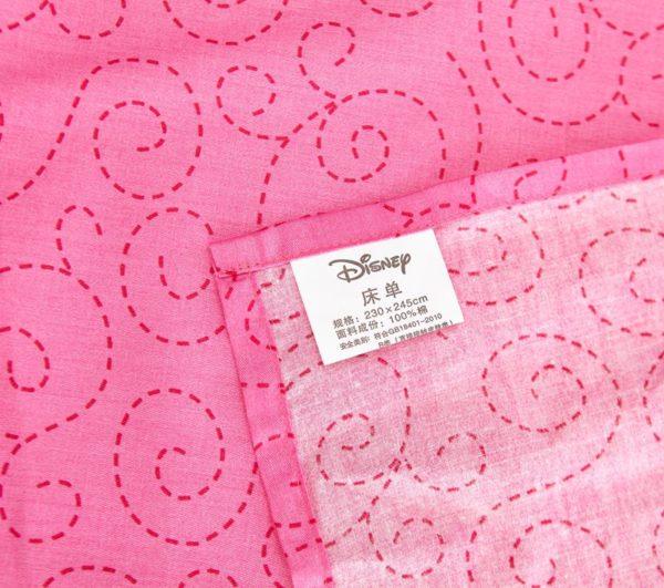 Decorative princess hotpink color bedding set 7 600x531 - Decorative Princess Hot pink Color Bedding Set