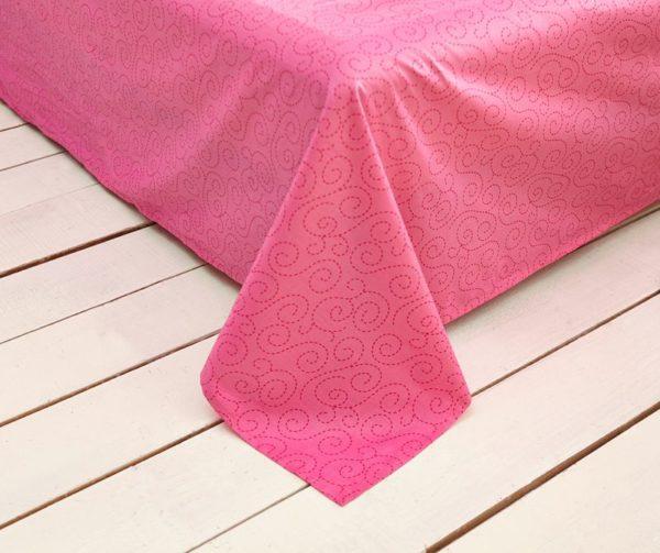 Decorative princess hotpink color bedding set 9 600x503 - Decorative Princess Hot pink Color Bedding Set