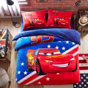 Disney Cars Film Themed Kids Bedding Set Twin Queen Size 1 300x300 - Disney Cars Film Themed Kids Bedding Set Twin Queen Size