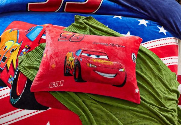 Disney Cars Film Themed Kids Bedding Set Twin Queen Size 4 600x415 - Disney Cars Film Themed Kids Bedding Set Twin Queen Size