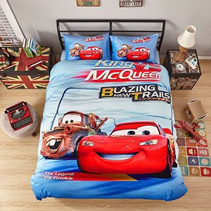 Disney Cars Movie Bedding Set Curtains Rugs Mats and Home Decor