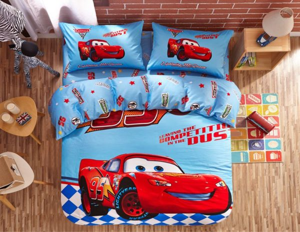 Disney Cars Movie Kids Bedding Set 1 600x465 - Disney Cars Movie Kids Bedding Set