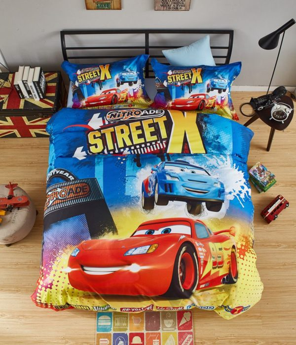 Disney Cars childrens sheets set bedding 1