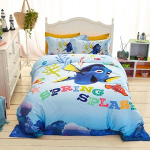 Disney Finding Dory Fish Movie Bedding Set