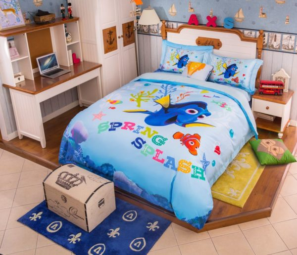 Disney Finding Dory Fish Movie Bedding Set 2