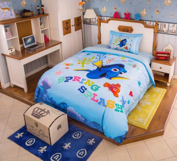 Disney Finding Dory Fish Movie Bedding Set 4 600x545 - Disney Finding Dory Fish Movie Bedding Set