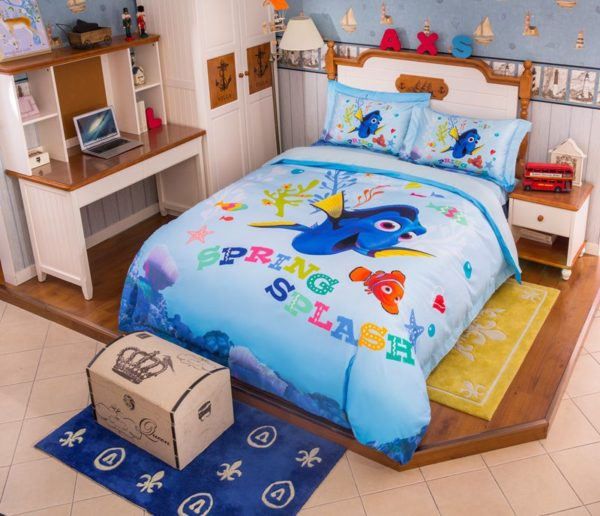 Disney Finding Dory Fish Movie Bedding Set 5