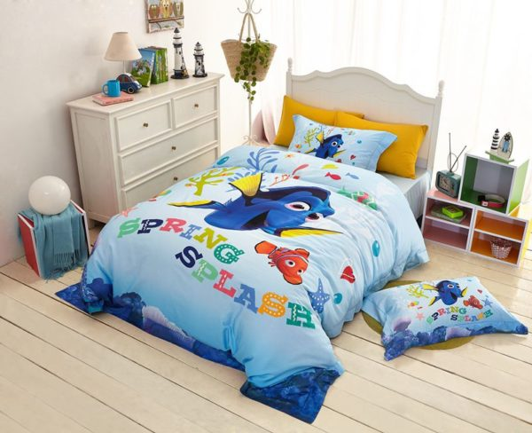 Disney Finding Dory Fish Movie Bedding Set 6