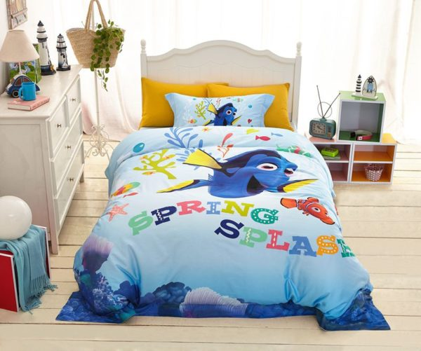 Disney Finding Dory Fish Movie Bedding Set 7