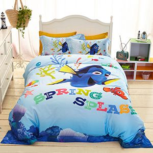 Disney Finding Dory Movie Themed Bedding Sets Curtains Rugs and Home Decor