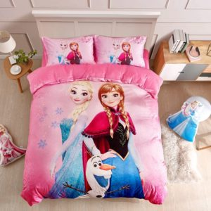 Disney Frozen Anna & Elsa Teen Girls Bedding Set