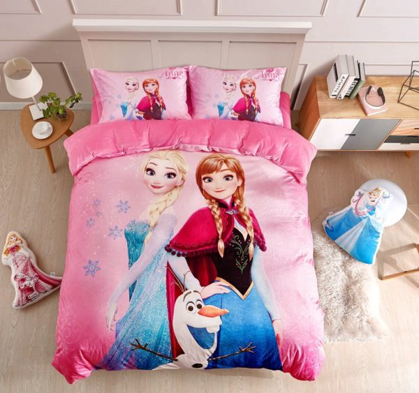 Disney Frozen Anna Elsa Teen Girls Bedding Set 1 600x563 - Disney Frozen Anna & Elsa Teen Girls Bedding Set