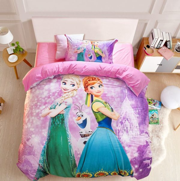 Disney Frozen Bed In Bag Twin Queen Size 2 600x604 - Disney Frozen Bed in Bag Twin Queen Size