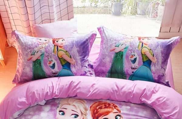 Disney Frozen Bed In Bag Twin Queen Size 9 600x393 - Disney Frozen Bed in Bag Twin Queen Size