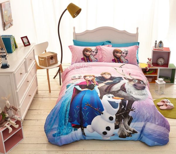 Disney Frozen Birthday Gift For Girls and Boys Bedding Set 1