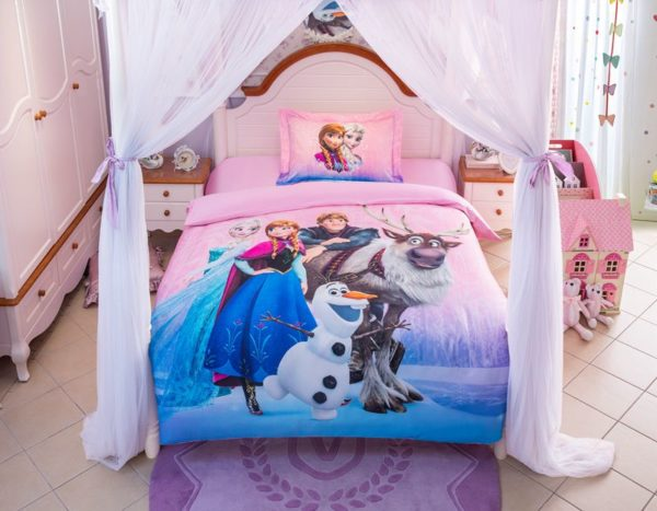 Disney Frozen Birthday Gift For Girls and Boys Bedding Set 11