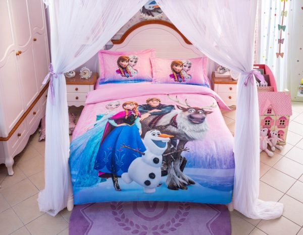 Disney Frozen Birthday Gift For Girls and Boys Bedding Set 12