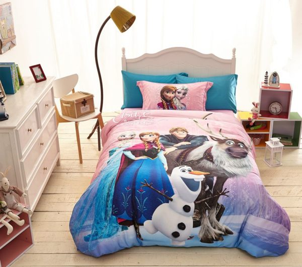 Disney Frozen Birthday Gift For Girls and Boys Bedding Set 2