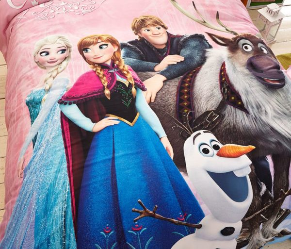 Disney Frozen Birthday Gift For Girls and Boys Bedding Set 3
