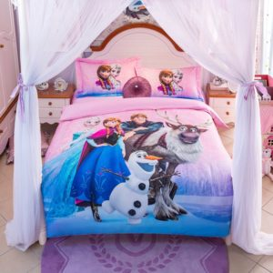 Disney Frozen Birthday Gift for Girls and Boys Bedding Set