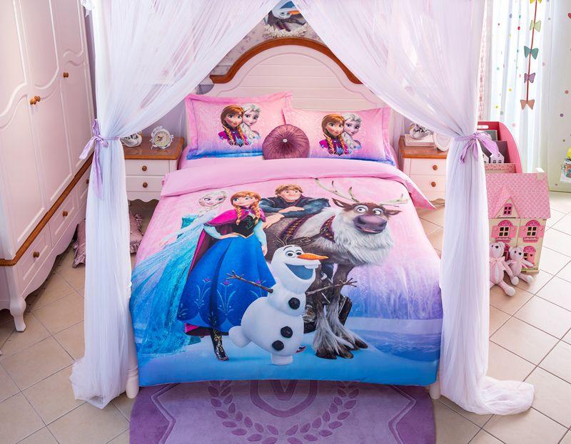 Disney Frozen Birthday Gift For Girls And Boys Bedding Set