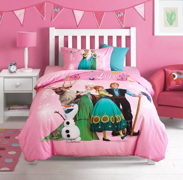 Disney Frozen Comforter Set for Kids Room 1 600x591 - Disney Frozen Comforter Set for Kids Room