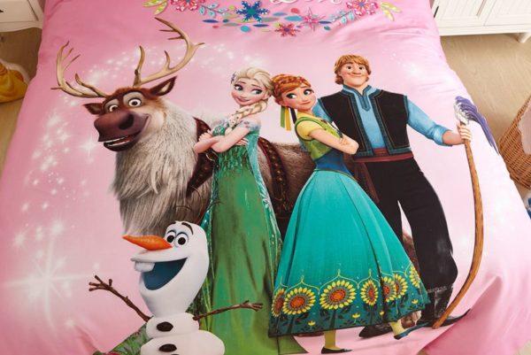 Disney Frozen Comforter Set for Kids Room 4 600x401 - Disney Frozen Comforter Set for Kids Room