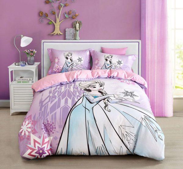 Disney Frozen Elsa Bedding Set Twin Queen Size 1