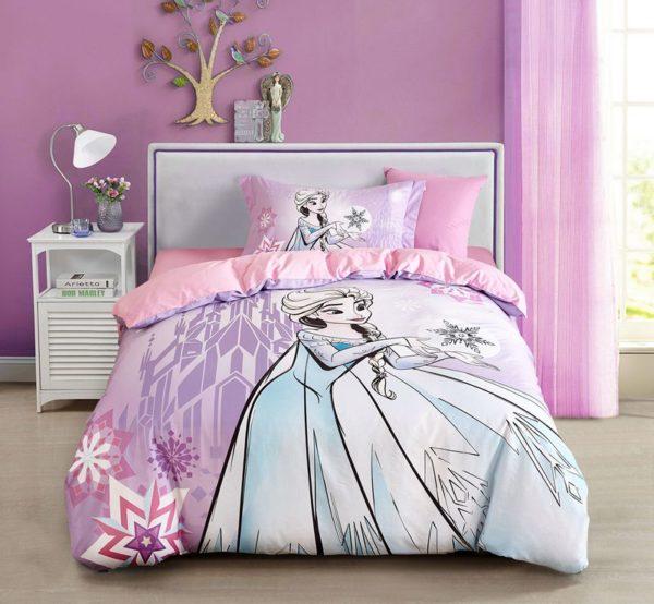 Disney Frozen Elsa Bedding Set Twin Queen Size 10