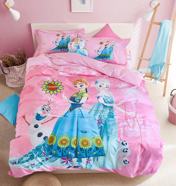 Disney Frozen Kids Comforter Set 1 600x635 - Disney Frozen Kids Comforter Set