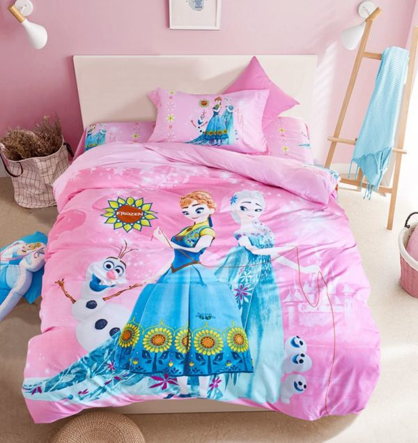 Disney Frozen Kids Comforter Set 2 600x635 - Disney Frozen Kids Comforter Set