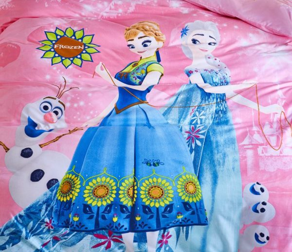 Disney Frozen Kids Comforter Set 3 600x518 - Disney Frozen Kids Comforter Set