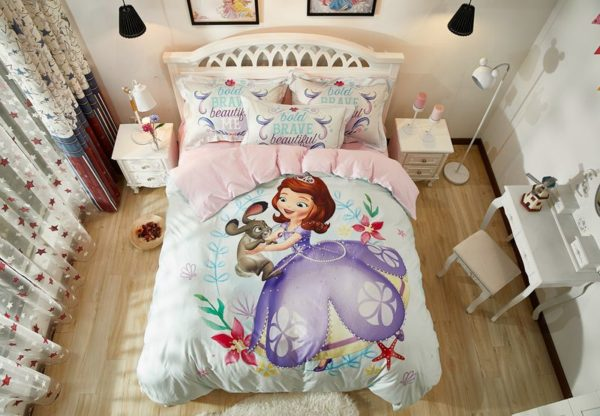 Disney Junior Sofia the First Princess Little Girl Bedding Set
