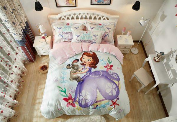 Disney Junior Sofia the First Princess Little Girl Bedding Set