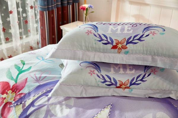 Disney Junior Sofia the First Princess Little Girl Bedding Set 4