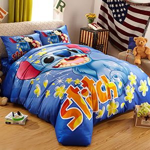 Disney Lilo And Stitch Movie Theme Bedding Sets Curtains Rugs and Home Decor