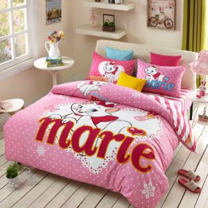 Disney Marie Cat Bedding Set for Pink Teen Girls Bedrrom 1 300x300 - Disney Marie Cat Bedding Set for Pink Teen Girls Bedroom