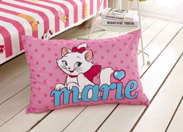 Disney Marie Cat Bedding Set for Pink Teen Girls Bedrrom 5