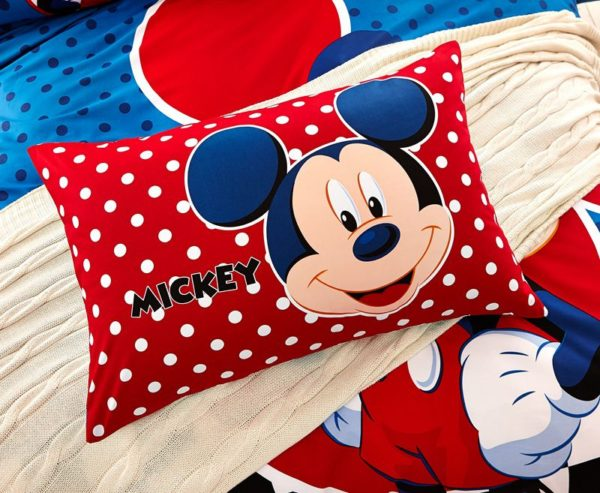 Disney Mickey Mouse Bedding Set For Teen Boys Kids Bedroom 5 600x493 - Disney Mickey Mouse Bedding Set For Teen Boys Kids Bedroom
